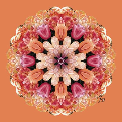 Skagit Digital Art - Skagit Blooms - 5 by Julie Bishop
