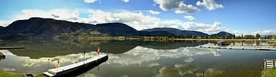 Photograph - Skaha Lake Panorama 04-28-2014 by Guy Hoffman