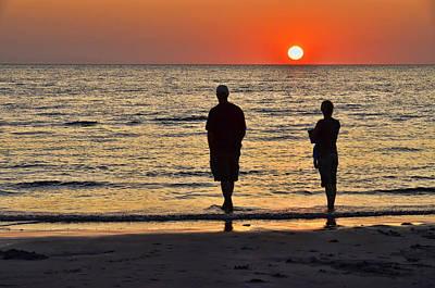 Photograph - Skaket Beach Sunset 2 by Allen Beatty