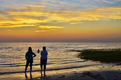 Photograph - Skaket Beach Sunset 4 by Allen Beatty
