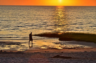 Photograph - Skaket Beach Sunset by Allen Beatty