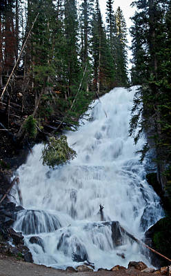 Photograph - Skalkaho Falls In Montana by Athena Mckinzie