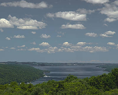 Skaneateles Lake Art Print by Richard Engelbrecht