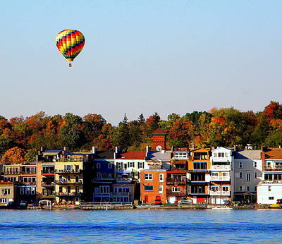 Skaneateles Skyline Art Print by Robert Green
