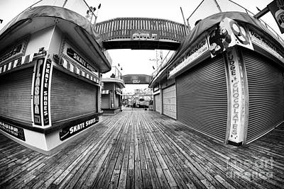 Seaside Heights Photograph - Skate Shoes by John Rizzuto