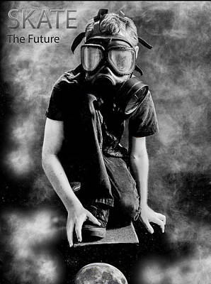 Photograph - Skate The Future by Kevin Cable