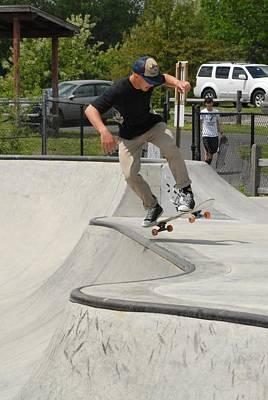 Grip Tape Photograph - Skateboarding 12 by Joyce StJames