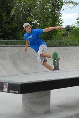 Skateboarding 2 Art Print