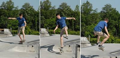 Skateboarding 8 Art Print