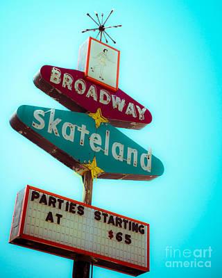 Skateland Art Print by Sonja Quintero