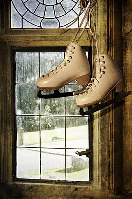 Photograph - Skates At The Window by Ethiriel  Photography