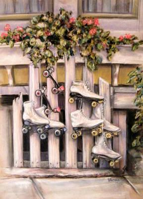 Skates Original by Julie Lemons