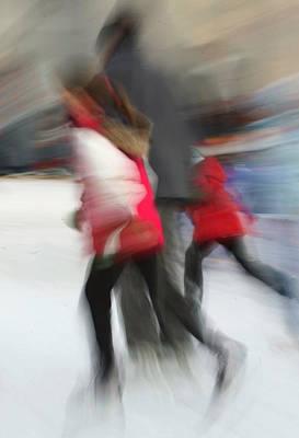 Photograph - Skating At Market Square by Jim Vance