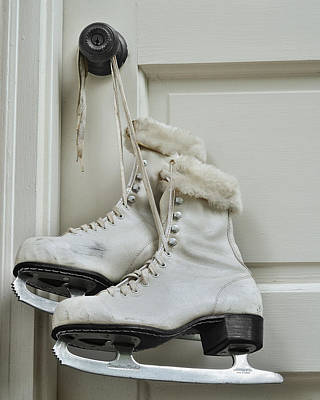 Photograph - Skating Boots by Krasimir Tolev