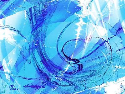 Decoration Digital Art - Skating Fantasy by Anastasiya Malakhova