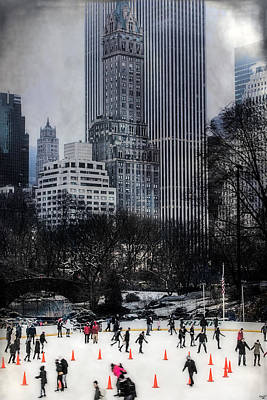 Photograph - Skating In Gotham by Chris Lord