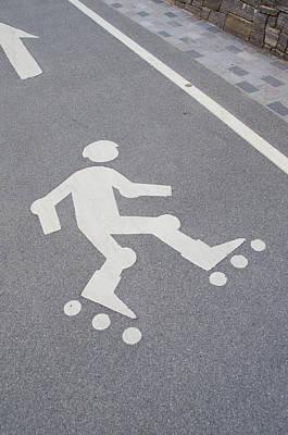 Photograph - Skating Lane by Guy Whiteley