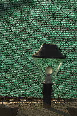 Meshed Photograph - Skc 5518 A Lamp Shade by Sunil Kapadia