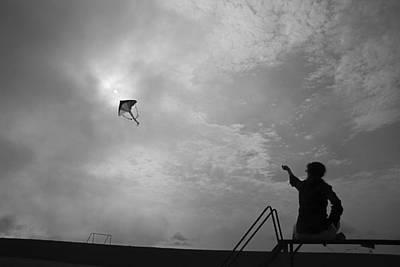 Just Desserts - SKC 6791 Kite Flying by Sunil Kapadia