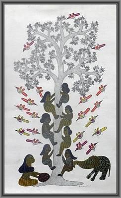 Suresh Kumar Dhurve Painting - Skd 07 by Suresh Kumar Dhurve