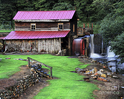 Photograph - Skeenah Creek Mill by Barbara Bowen