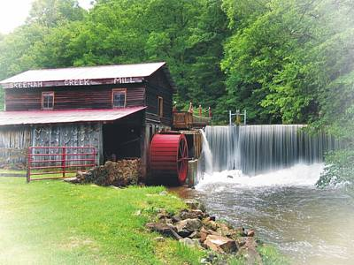 Photograph - Skeenah Creek Mill by Joe Duket