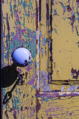 Doorknob Photograph - Skeleton Key Shadow by Garry Gay