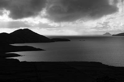 Irish Seascape Photograph - Skellig Island View  by Aidan Moran