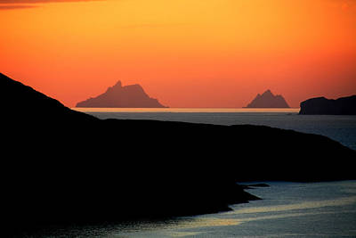 Photograph - Skellig Islands  by Aidan Moran