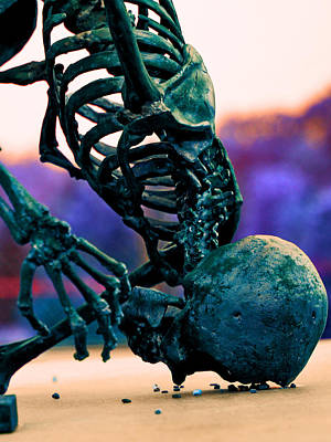 Photograph - Skelton  by Jon Baldwin  Art