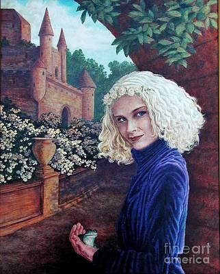 Skeptical Princess Art Print by Laura Sapko