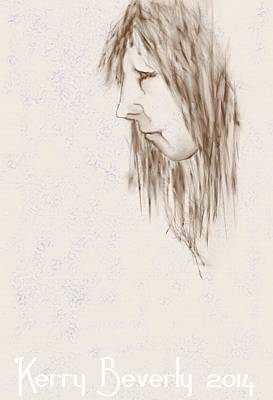 Digital Art - Sketch 2015-10 by Kerry Beverly