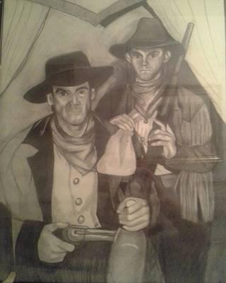 Sketch For Billy Art Print