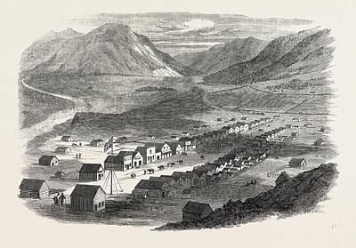 Sketches From British Columbia Lilloett Art Print by English School