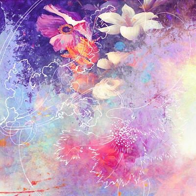 Painting - Sketchflowers - Lily by Aimee Stewart