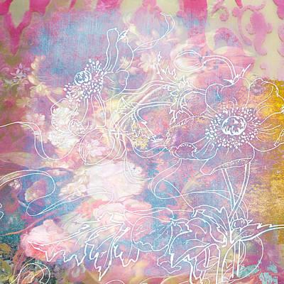 Painting - Sketchflowers - Posy by Aimee Stewart