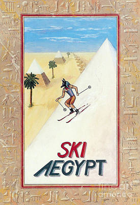 Painting - Ski Aegypt by Richard Deurer