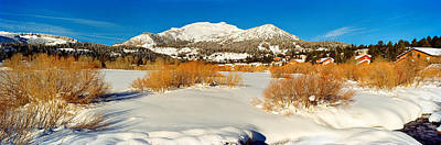 Mammoth Lakes Photograph - Ski Resort, Mammoth Mountain Ski Area by Panoramic Images