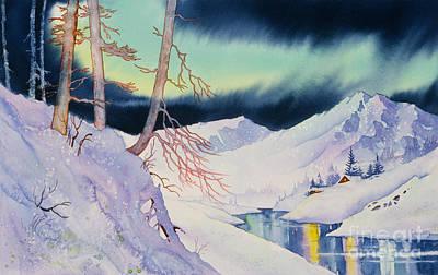Painting - Ski Trail by Teresa Ascone