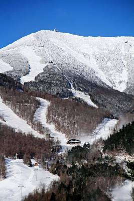 Rural Scene Photograph - Ski Whiteface Mountain by Michael Allen