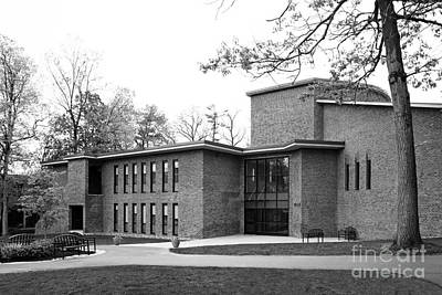 Skidmore College Filene Hall Art Print by University Icons