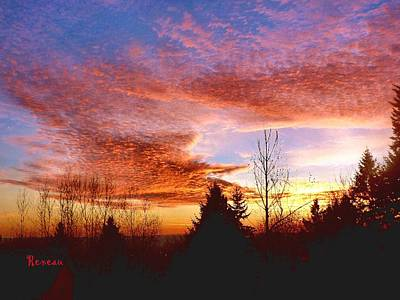 Photograph - Skies Ablaze by Sadie Reneau