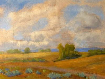 Skies Over Western Spokane Art Print