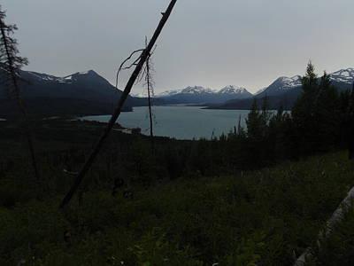 Skilak Lake In Kenai Alaska Art Print