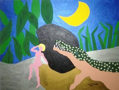 Painting - Skin by Erika Chamberlin