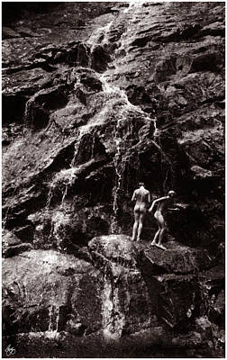 Photograph - Skinny-dipping At Nancy Cascade by Wayne King
