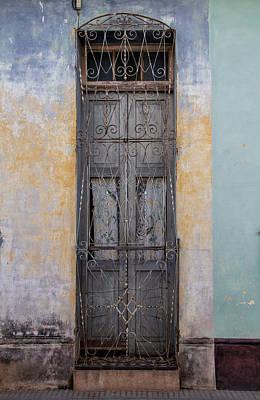 Skinny Door Art Print