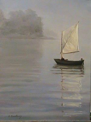 Skipjack On The Chesapeake Art Print