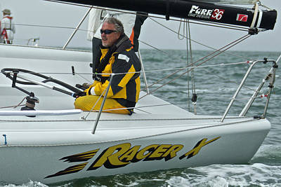 Photograph - Skipper Racer X by Steven Lapkin