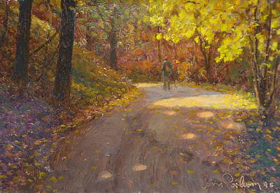 Painting - Skippers Autumn by Terry Perham